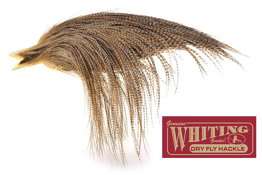 Whiting Red label/Hebert Dryfly Capes