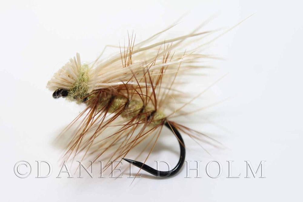 Whiting High n dry - Grizzly Dyed Golden Olive